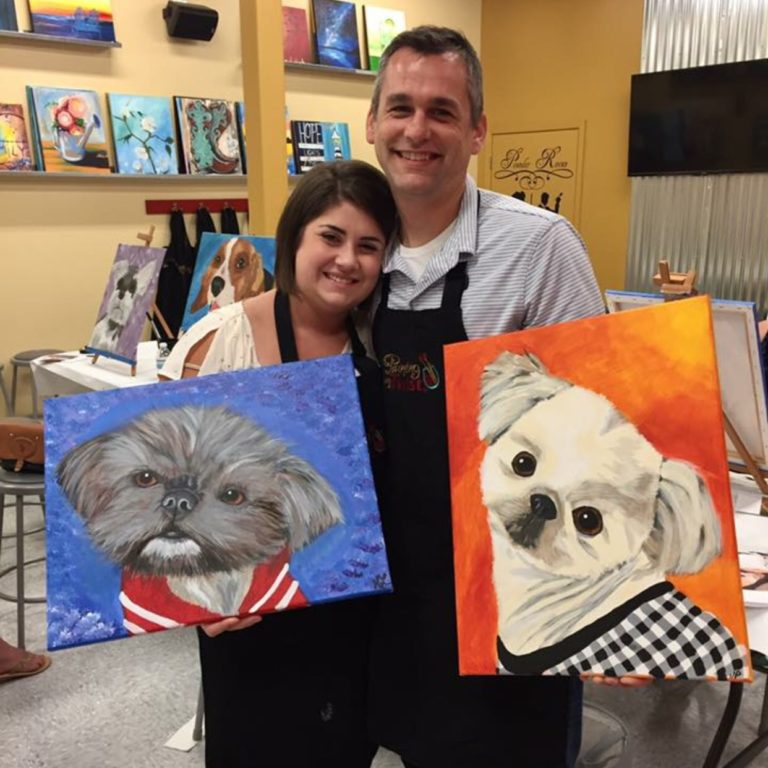 Paint Your Pet Painting With A Twist Downtown Colorado Springs At Painting With A Twist Colorado Springs Downtown Colorado Springs Co Classes Workshops