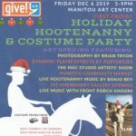 First Friday Holiday Hootenanny and Costume Party presented by Manitou Art Center at Manitou Art Center, Manitou Springs CO