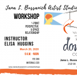Perspective Drawing Workshop presented by Jana L Bussanich Art Studio at Jana L Bussanich Art Studio, Colorado Springs CO