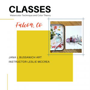 Watercolor Technique and Color Theory Classes presented by Jana L Bussanich Art Studio at ,
