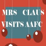 Mrs. Claus visits AAFC presented by Academy Art & Frame Company at Academy Frame Company, Colorado Springs CO