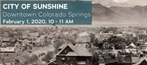 Downtown Walking Tour: City of Sunshine presented by Downtown Partnership of Colorado Springs at The Wild Goose Meeting House, Colorado Springs CO