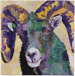 Animal Portraits with Barb Beasley presented by Textiles West at Textiles West, Colorado Springs CO