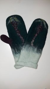 Toasty Winter Wet-Felted Mittens presented by Textiles West at TWIL at the Manitou Art Center, Manitou Springs CO