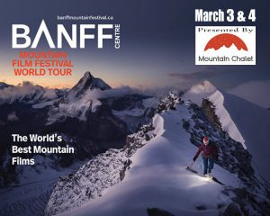 SOLD OUT: Banff Mountain Film Festival presented by Stargazers Theatre & Event Center at Stargazers Theatre & Event Center, Colorado Springs CO