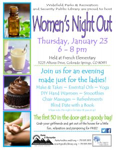 Women's Night Out presented by 'Regular Things Happen' at ,