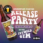 CANCELLED DUE TO WEATHER: Smokebrush Smoked Porter Release Party presented by Smokebrush Foundation for the Arts at Ivywild School, Colorado Springs CO