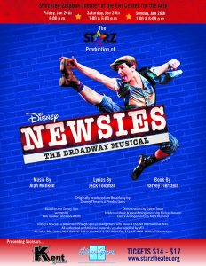 'Disney's Newsies' presented by Linda Weise & The Conservatory All Stars at Ent Center for the Arts, Colorado Springs CO