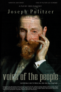 Temple Shalom Jewish Film Series: 'Joseph Pulitzer: Voice of the People' presented by Temple Shalom at Temple Shalom, Colorado Springs CO