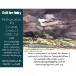 Call for Artists: Responding to Climate Change through Art presented by Commonwheel Artists Co-op at Commonwheel Artists Co-op, Manitou Springs CO