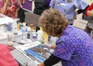 Liquid Acrylic Pour Art Classes presented by Academy Art & Frame Company at Academy Frame Company, Colorado Springs CO