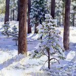 Winter Rivers and Trees in Watercolor presented by Lorraine Watry at ,