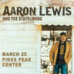 POSTPONED: Aaron Lewis presented by Pikes Peak Center for the Performing Arts at Pikes Peak Center for the Performing Arts, Colorado Springs CO