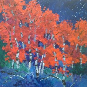 'The Red Less Traveled' presented by Laura Reilly Fine Art Gallery and Studio at Laura Reilly Studio, Colorado Springs CO