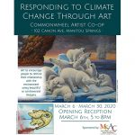 CLOSED MARCH 15-28: Responding to Climate Change through Art presented by Commonwheel Artists Co-op at Commonwheel Artists Co-op, Manitou Springs CO