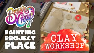 Hand Building Clay Workshop presented by Brush Crazy at Brush Crazy, Colorado Springs CO