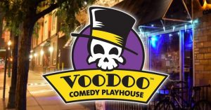 CANCELED: Voodoo Comedy Improv Classes presented by <i>Virtual</i> First Friday: April 3 at ,