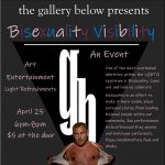 CANCELED: Bi Visibility Event presented by The Gallery Below at The Gallery Below, Colorado Springs CO
