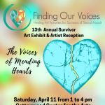 POSTPONED: 'The Voices of Mending Hearts' presented by Finding Our Voices at Cottonwood Center for the Arts, Colorado Springs CO