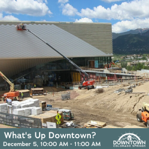 Downtown Walking Tour: What's Up Downtown? presented by Downtown Partnership of Colorado Springs at The Wild Goose Meeting House, Colorado Springs CO