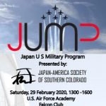 Japan-US Military Program (JUMP) Event presented by Japan-America Society of Southern Colorado at Air Force Falcon Club, Colorado Springs CO