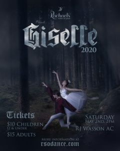'Giselle' presented by Rachael's School of Dance at ,