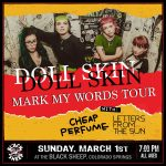 Doll Skin presented by The Black Sheep at The Black Sheep, Colorado Springs CO