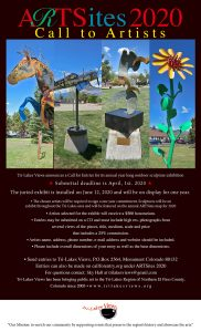 CALL FOR ARTISTS: ARTSites2020 presented by Tri-Lakes Views at Downtown Monument, Monument CO