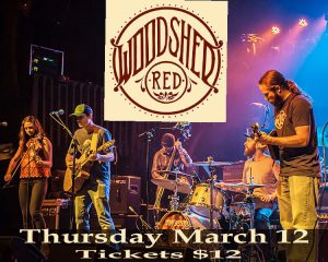 Woodshed Red presented by Stargazers Theatre & Event Center at Stargazers Theatre & Event Center, Colorado Springs CO