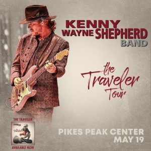 POSTPONED: Kenny Wayne Shepherd presented by Pikes Peak Center for the Performing Arts at Pikes Peak Center for the Performing Arts, Colorado Springs CO