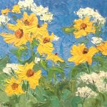 'The Floral Show' presented by Laura Reilly Fine Art Gallery and Studio at Laura Reilly Studio, Colorado Springs CO