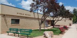 Benjamin Steele Elementary School located in Colorado Springs CO