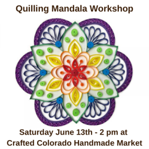 Quilling Mandala Workshop presented by  at ,
