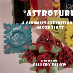 CANCELED: 'Astroturf:' A Ceramics Exhibition By Jacob Scott presented by The Gallery Below at The Gallery Below, Colorado Springs CO