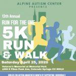 Virtual Run for the One 5K Walk & Run presented by Memorial Park, Colorado Springs at Memorial Park, Colorado Springs, Colorado Springs CO