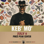 CANCELED: Keb' Mo' presented by Pikes Peak Center for the Performing Arts at Pikes Peak Center for the Performing Arts, Colorado Springs CO