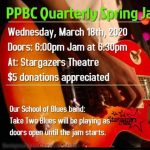 POSTPONED Until April 29: Pikes Peak Blues Community Spring Jam presented by Pikes Peak Blues Community at Stargazers Theatre & Event Center, Colorado Springs CO