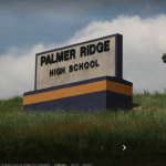 Black Box Theater at Palmer Ridge High School located in Monument CO