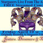 Stargazers Theatre & Event Center Virtual Concerts presented by Stargazers Theatre & Event Center at Online/Virtual Space, 0 0