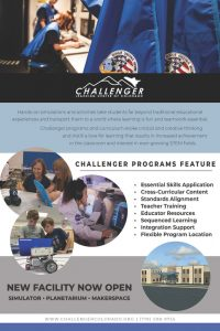 Challenger Learning Center located in Colorado Springs CO