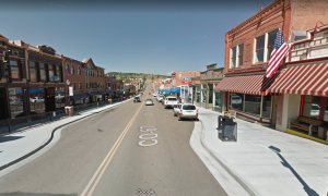 City of Cripple Creek, Bennett Ave located in Cripple Creek CO