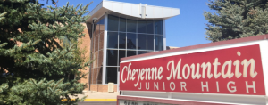 Cheyenne Mountain Junior High School located in Colorado Springs CO
