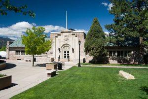 Colorado College – Cossitt Hall located in Colorado Springs CO