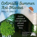 Colorado Summer Art Market presented by Commonwheel Artists Co-op at Commonwheel Artists Co-op, Manitou Springs CO