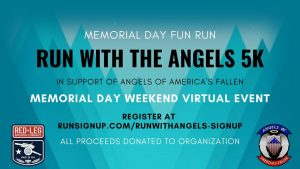 Run with the Angels Virtual 5K presented by Run with the Angels Virtual 5K at ,