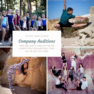 Call for Auditions: Peak Performing Company presented by  at ,