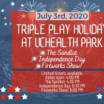 Triple Play Holiday presented by Rocky Mountain Vibes Baseball at UCHealth Park, Colorado Springs CO