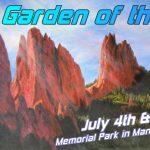 Garden of the Arts presented by Memorial Park, Manitou Springs at Memorial Park, Manitou Springs, Manitou Springs CO