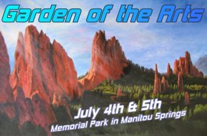 Garden of the Arts presented by Garden of the Arts at Memorial Park, Manitou Springs, Manitou Springs CO