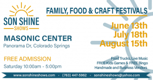Family, Food, & Craft Festival presented by Call for Submissions: Works from Diverse Artists at Masonic Grand Lodge, Colorado Springs CO